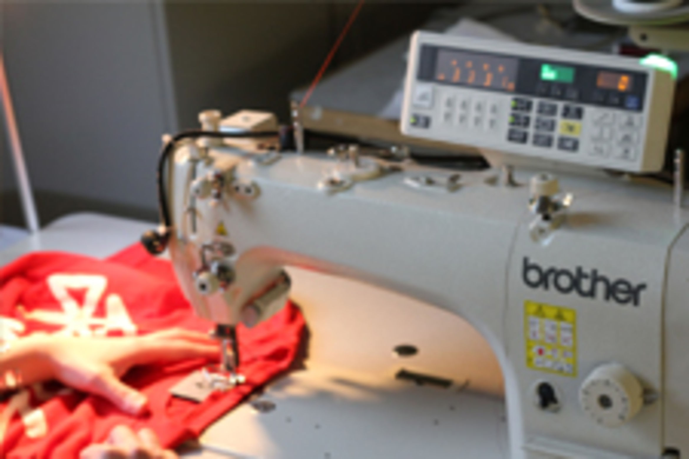 The EPCC only  use Brother sewing machines, the best in the industry